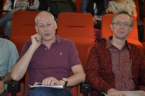 Deputy Minister Volin and Ambassador Galuzin