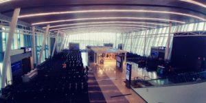 Charlotte airport -- the new wing